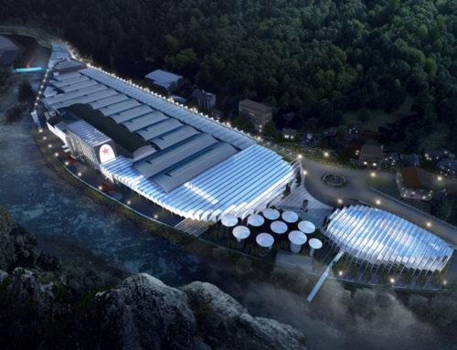 San Pellegrino Flagship Factory. Il progetto di BIG prende il volo