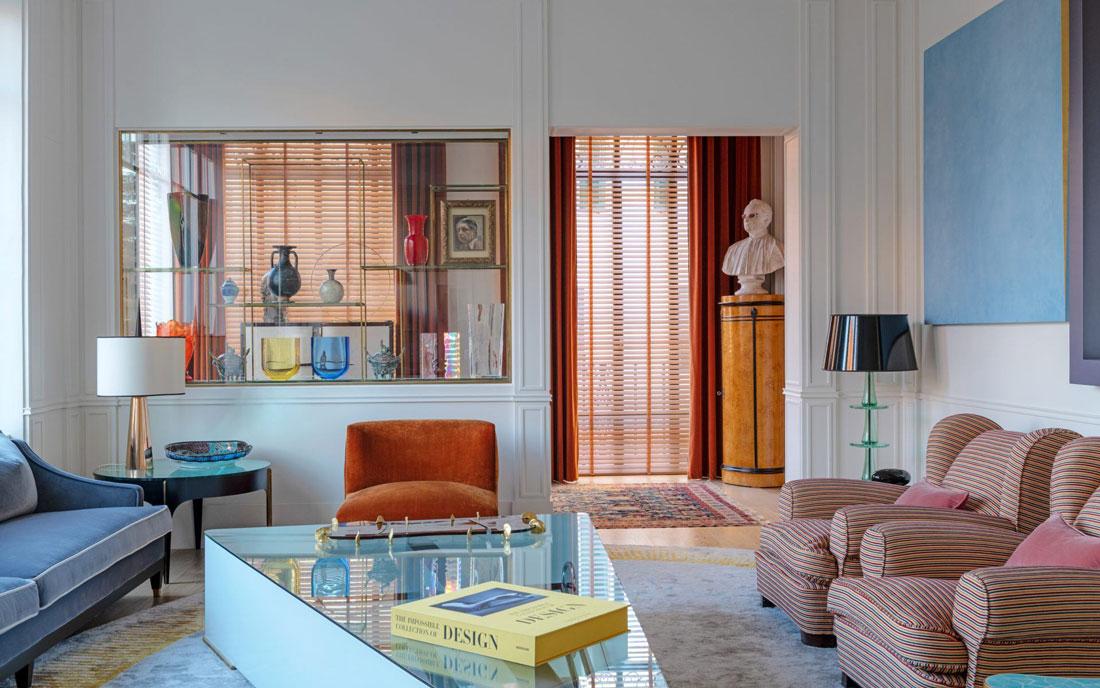 Interni con stile: l'appartamento da sogno di Achille Salvagni