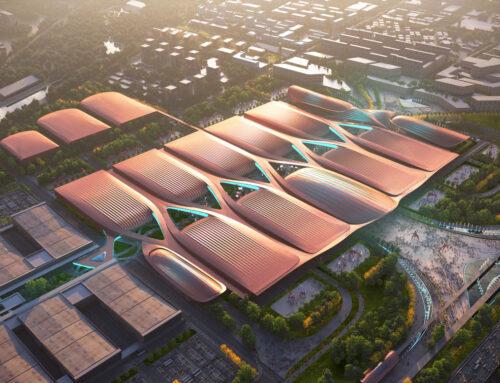 Zaha Hadid Architects vince il concorso per la costruzione della fase II dell'International Exhibition Centre di Pechino