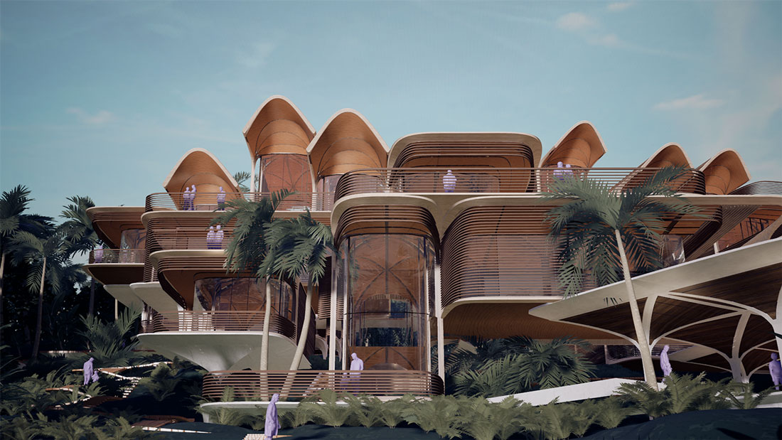 04_Roatan-Prospera-Residences_Exterior_LowBeach_Space-Variation_lowres