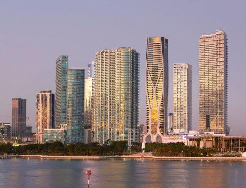 Miami ha una nuova torre residenziale di 62 piani firmata Zaha Hadid Architects