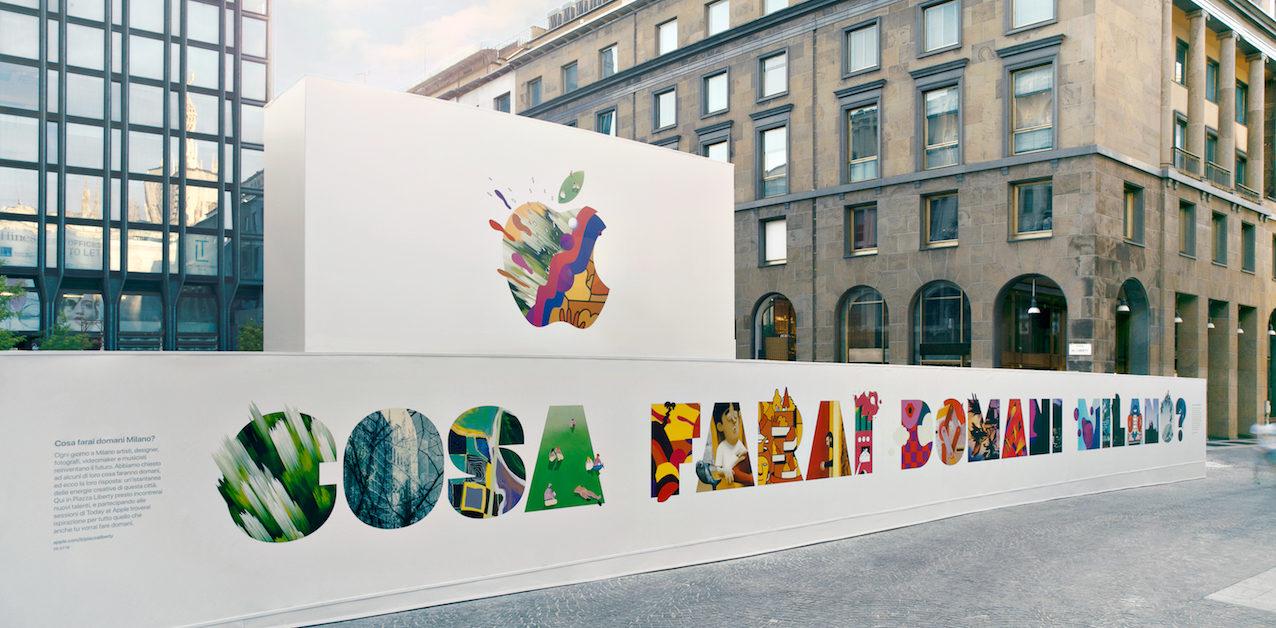 Apple sbarca a Milano con la festa-evento dell'anno