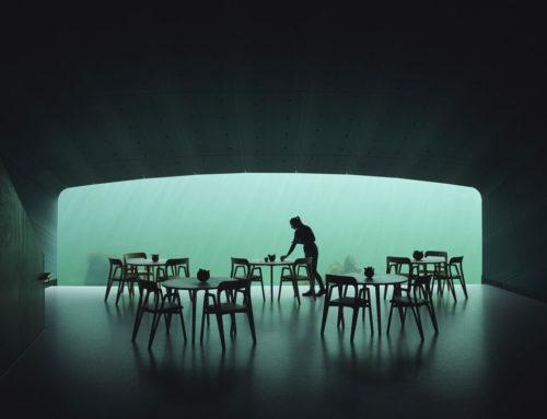 Under, un ristorante dove cenare dentro il mare