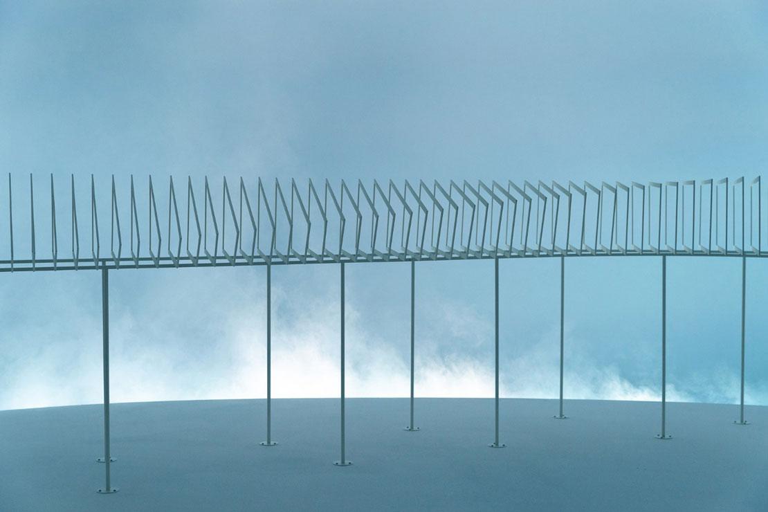 Un'installazione dell'architetto danese Dorte Mandrup e Frants Nielsen in esposizione alla Biennale.
