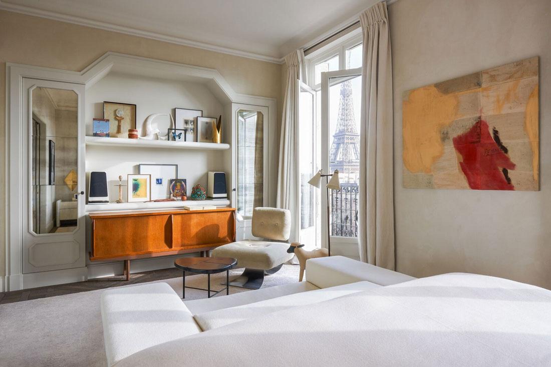Monolocali In Vendita A Parigi interni con stile: l'appartamento parigino di joseph dirand