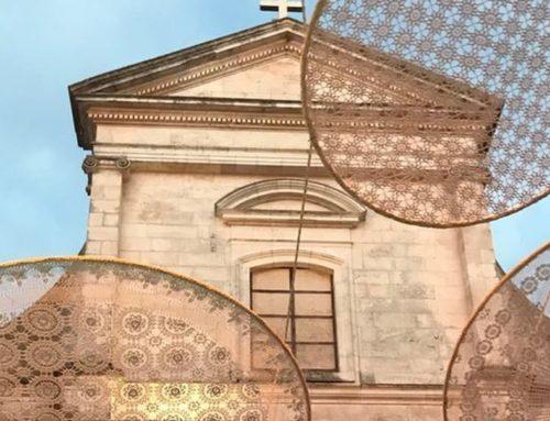 I centri sospesi di Bernardo Palazzo rivestono il cielo di Cisternino