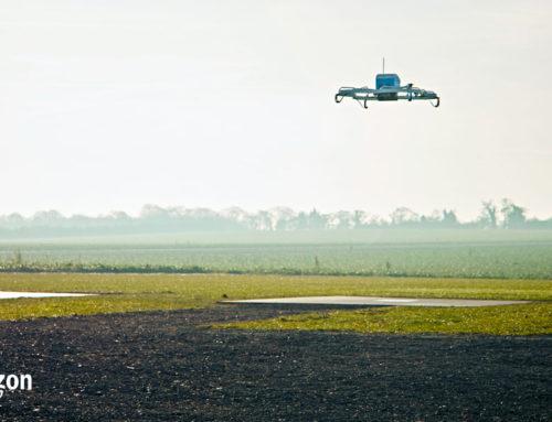 Amazon: i pacchi arrivano a casa con i droni Prime Air
