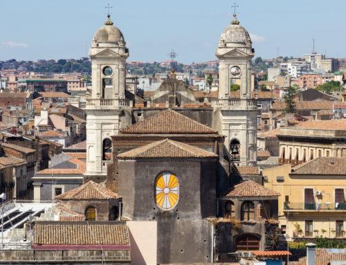 Via Crociferi, una delle strade più belle d'Italia