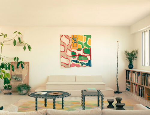 Interni con stile: un appartamento che si ispira alla vibe di una piscina