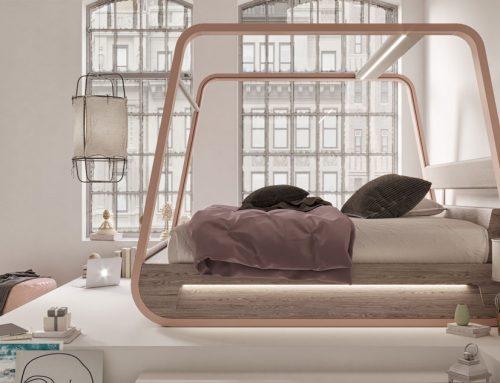 Hi-Interiors lancia HiBed, il letto intelligente