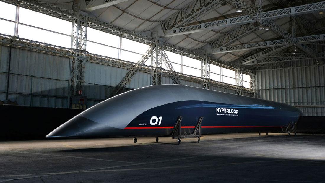 """Il prototipo della """"capsula"""" entro cui si viaggerà a velocità fino ad ora inimmaginabili"""