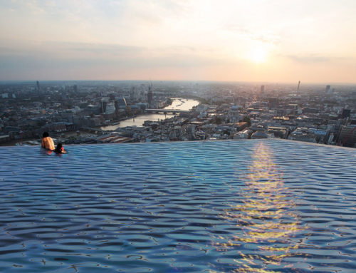 Infinity London: una piscina a 220 metri d'altezza