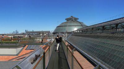 Milano, a spasso sui tetti della Galleria per vedere il nuovo Skyline