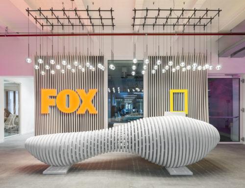I nuovi uffici nel cuore di Roma di Fox Network Group progettati da DEGW