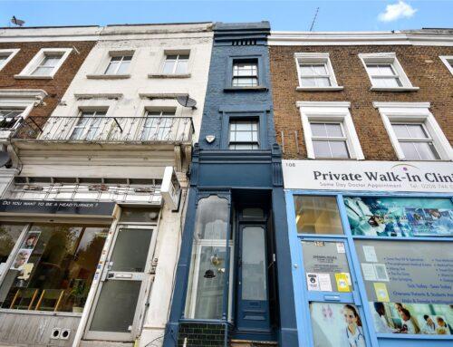 A Londra in vendita la casa più stretta della città per 1,3 milioni di dollari