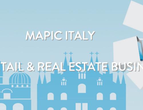 MAPIC 2018: l'evento italiano di retail e real estate