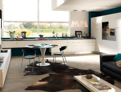 Cucina e soggiorno open space: spazi uniti per sfruttare lo spazio di casa