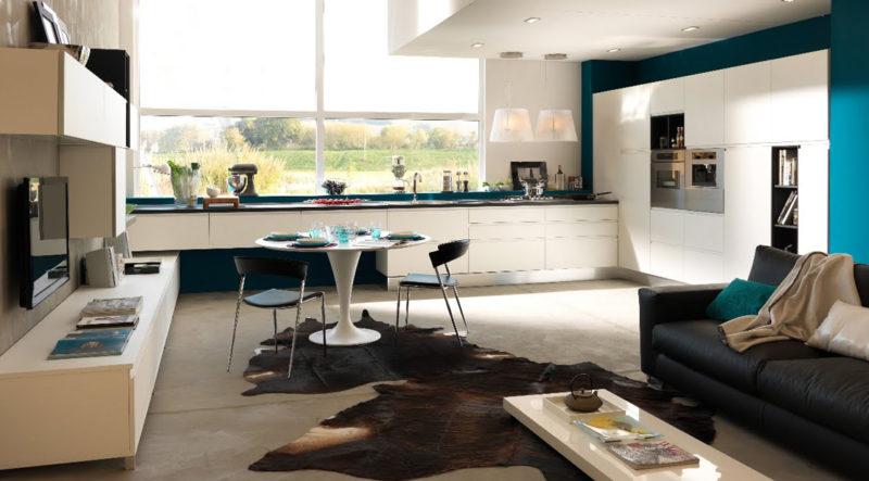 Soluzione-cucina-soggiorno-open-space
