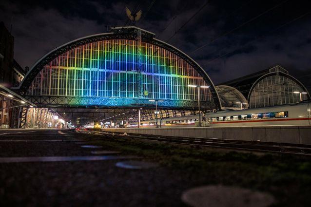 Stazione Arcobaleno 1 - foto Studio Roosegaarde