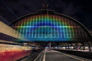 Stazione Arcobaleno 2 - foto Studio Roosegaarde