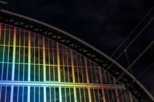 Stazione Arcobaleno 3 - foto Studio Roosegaarde
