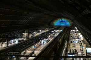 Stazione Arcobaleno 5 - foto Studio Roosegaarde