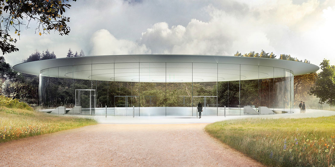 Lo Steve Jobs Theatre all'apple Park