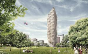 grattacielo legno stoccolma svezia