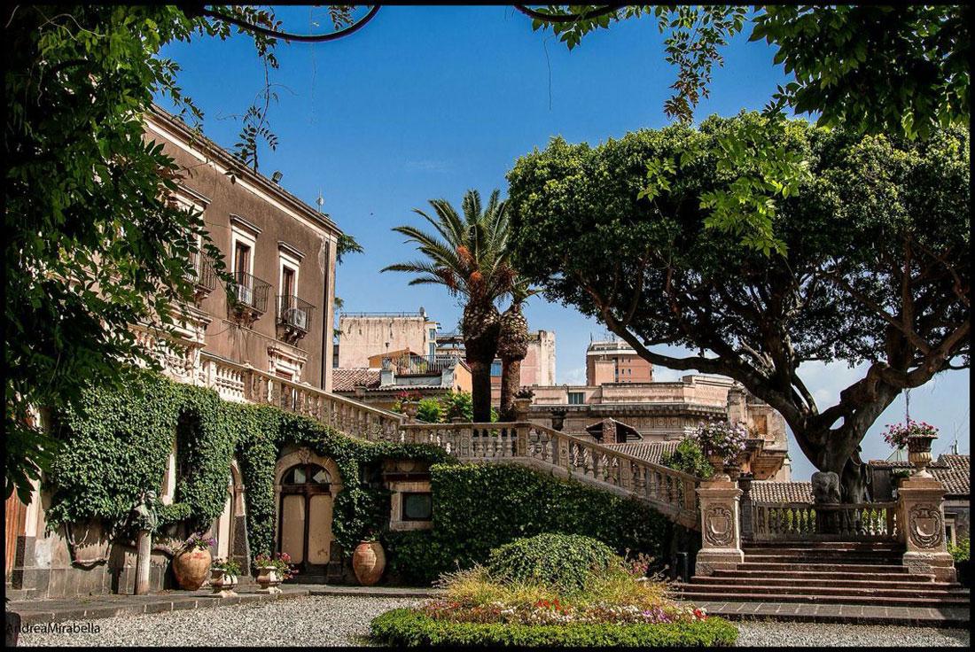 Villa Cerami, oggi sede della facoltà di Giurisprudenza di Catania