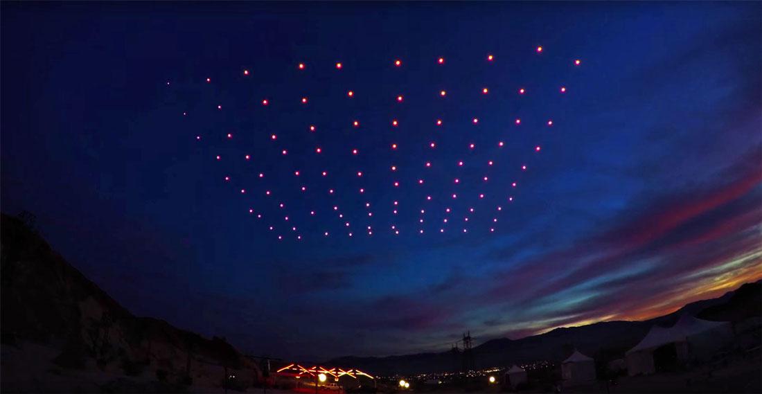 I droni utilizzati a Torino per la festa di San Giovanni