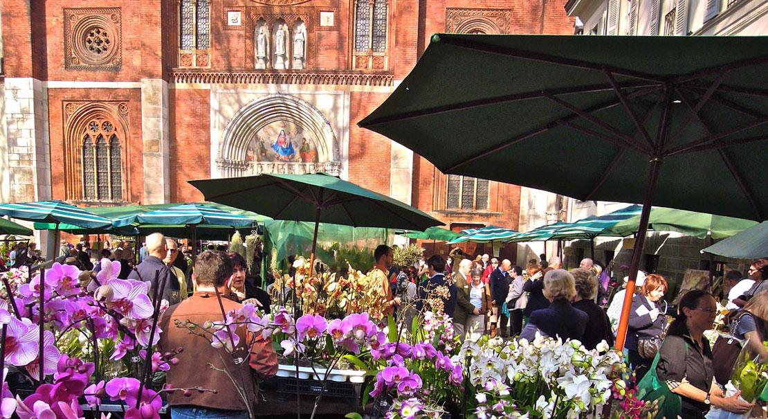Floralia milano il mercatino dei fiori nel cuore di brera for Il mercatino milano