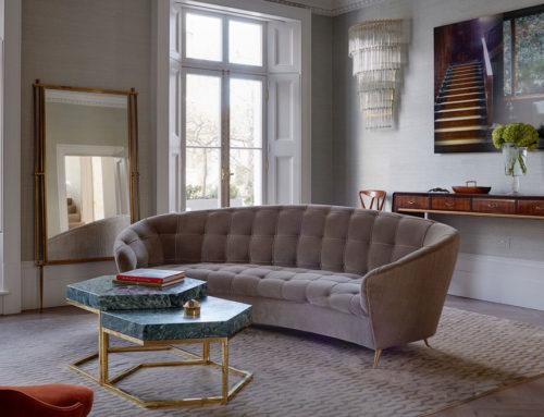 Disco House: una casa a Notting Hill ispirata al design italiano di Villa Necchi Campiglio e allo stile di Marella Agnelli