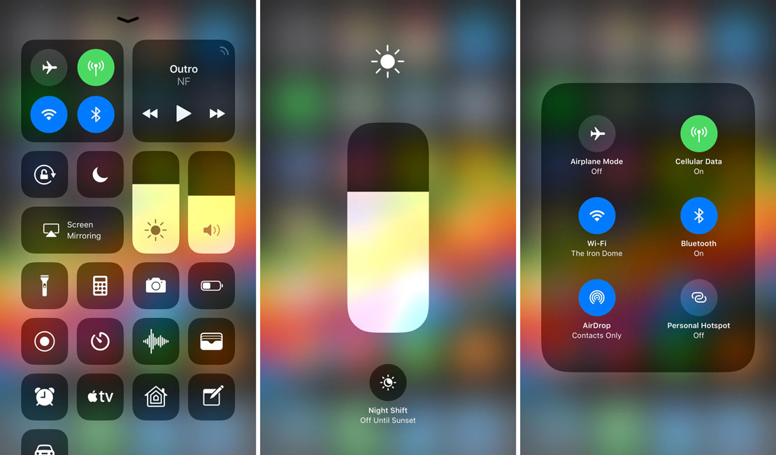 ios-11-control-center-shortcuts