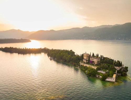 Isola del Garda, una villa da sogno in mezzo al lago