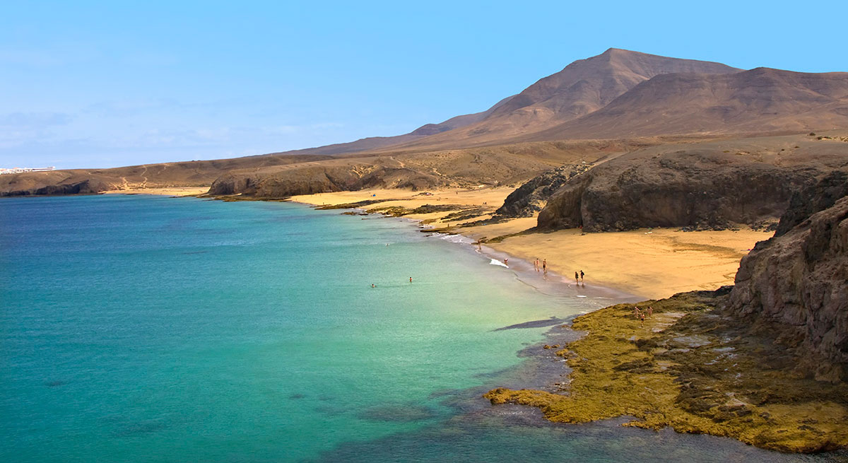 Le splendide viste di Lanzarote, isola de Le Canarie