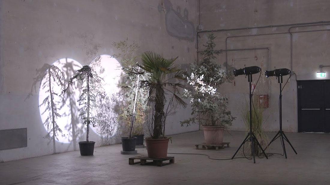 Un'installazione dell'ultima sala