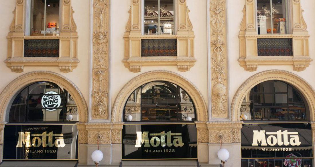 Motta Milano 1928: il salotto di Milano si rinnova con uno stile che unisce passato e presente