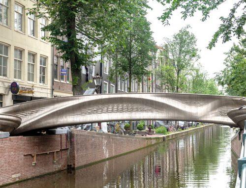 Ad Amsterdam il futuro è oggi: nasce il primo ponte pedonale stampato in 3D