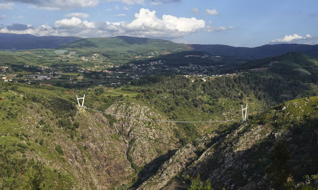 In Portogallo il ponte sospeso più lungo del Mondo
