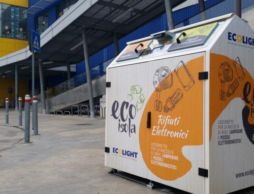 EcoIsola, il cassonetto automatizzato per la raccolta dei rifiuti elettronici