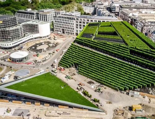 A Düsseldorf la montagna urbana più ecologica d'Europa